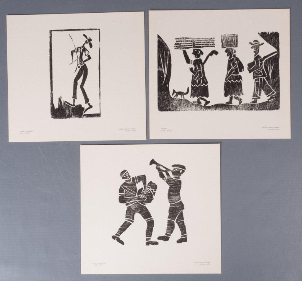 Bahia Woodcut Albums, Two (2) - 5