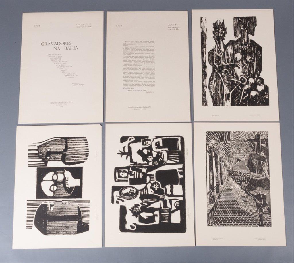 Bahia Woodcut Albums, Two (2) - 6