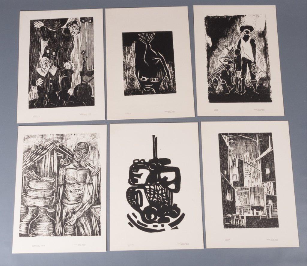 Bahia Woodcut Albums, Two (2) - 7