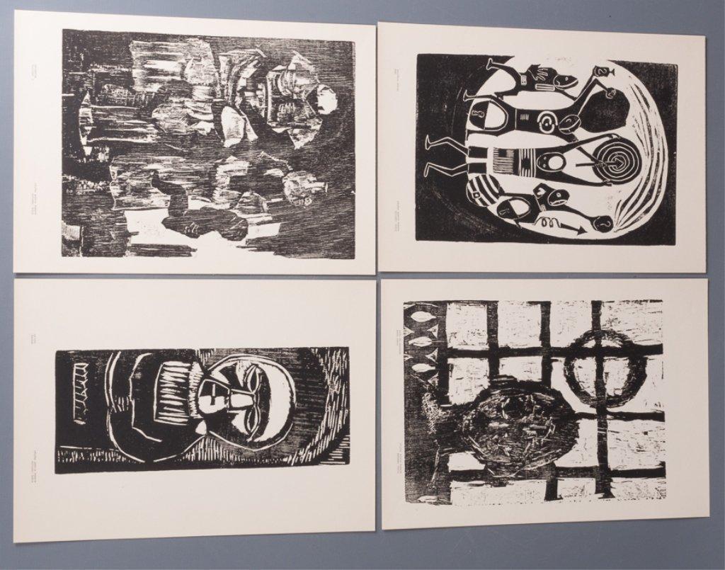 Bahia Woodcut Albums, Two (2) - 8