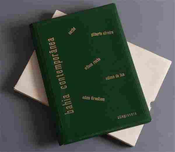 """Bahia Conteporanea"" Woodcut Album"