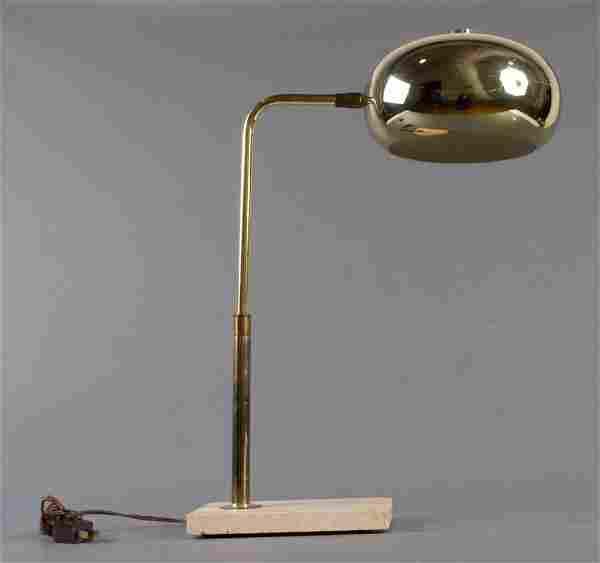 Modern Brass Eyeball Table Lamp