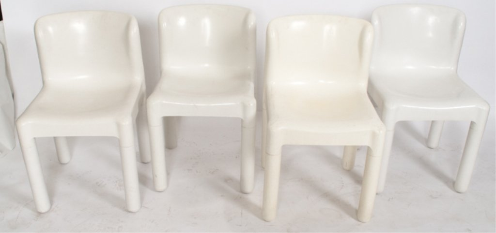 Kartell Chairs Set of Four (4)