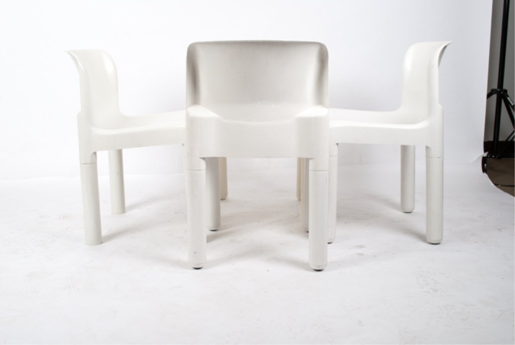 Kartell Chairs Set of Four (4) - 2