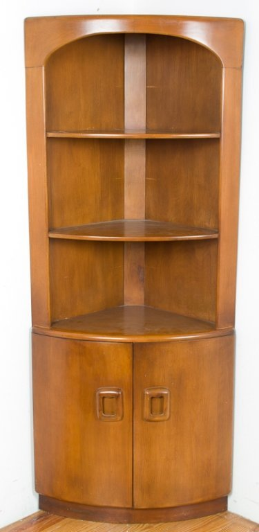Heywood Wakefield Corner Cabinet