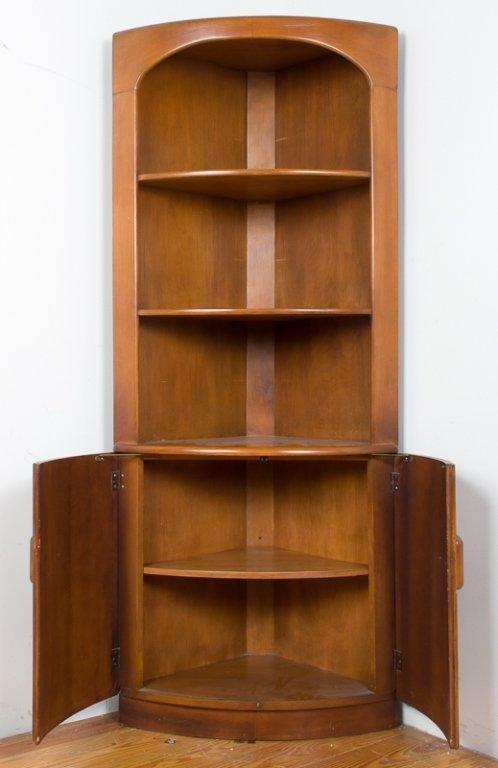 Heywood Wakefield Corner Cabinet - 2