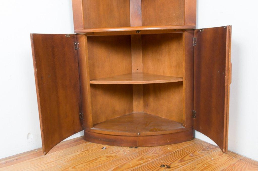 Heywood Wakefield Corner Cabinet - 3