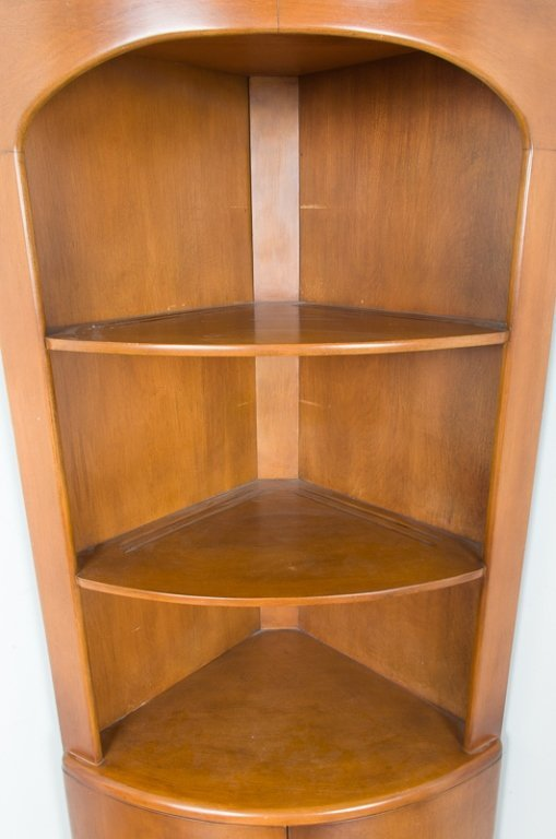 Heywood Wakefield Corner Cabinet - 4