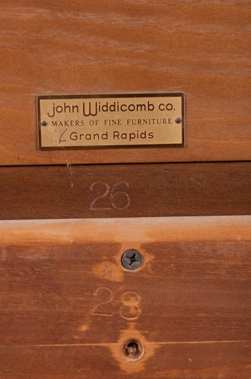 John Widdicomb Asian Style King Size Headboard - 8