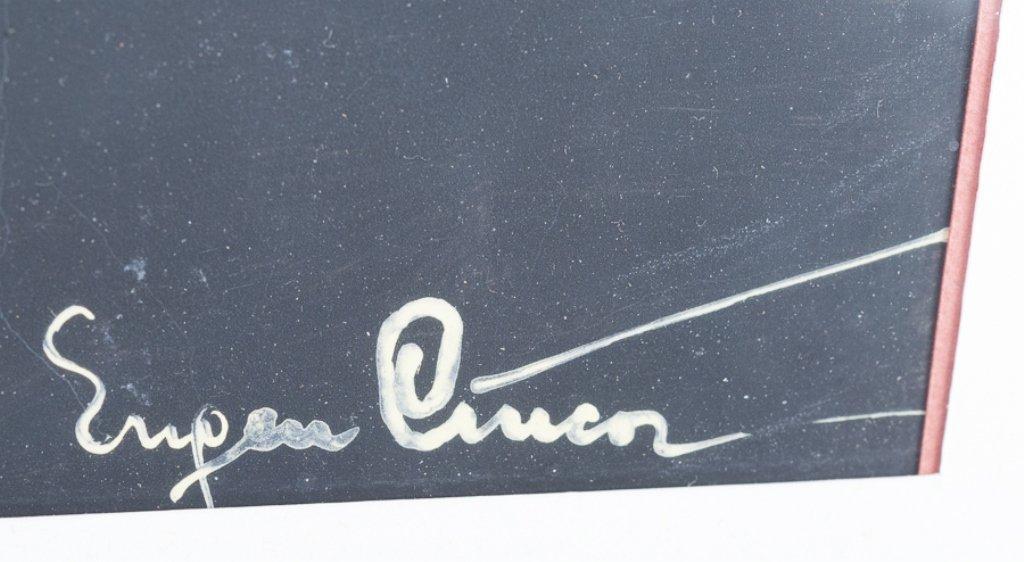 """Eugen Ciuca Abstract Watercolor """"Alarme"""" - 4"""