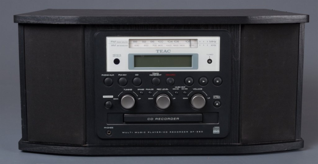 TEAC-GF-350 Multi Music Player CD Recorder - 6