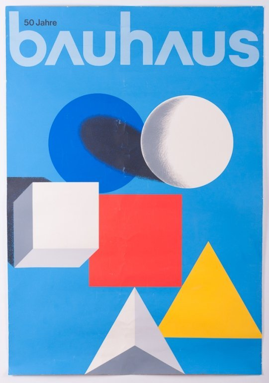Herbert Bayer Bauhaus Screenprint Poster