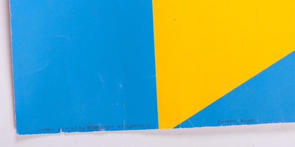 Herbert Bayer Bauhaus Screenprint Poster - 2