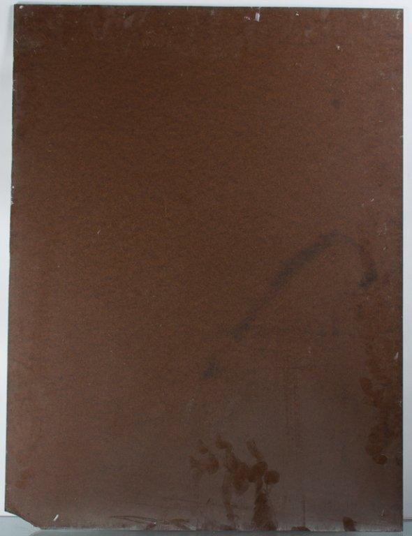 E. Metzger Nude Portrait Oil on Masonite, & Book - 3