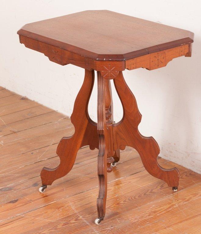 Victorian Eastlake Style Table