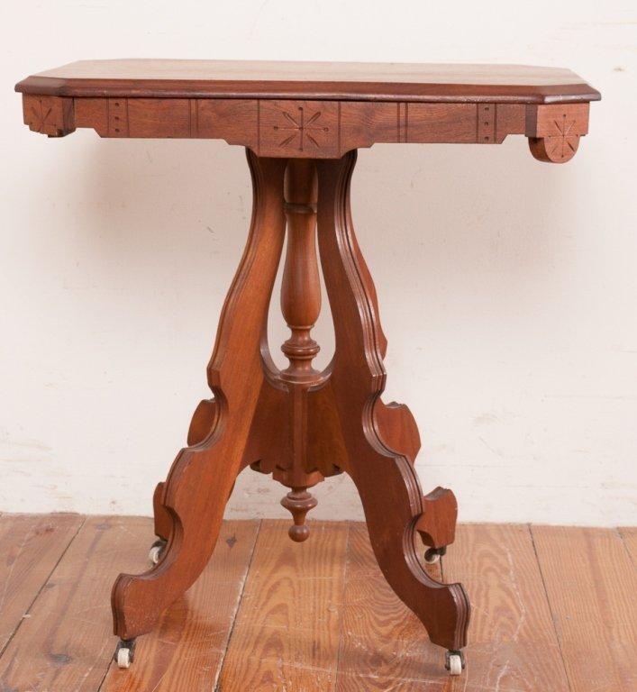 Victorian Eastlake Style Table - 2