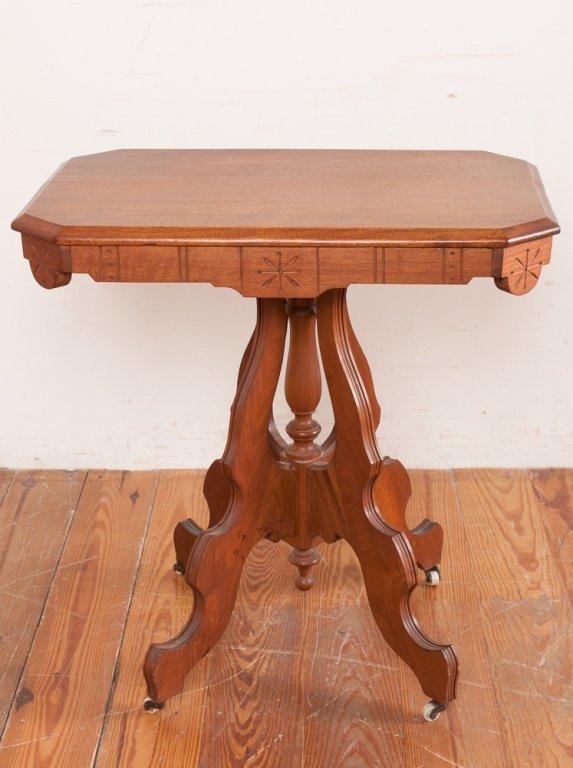 Victorian Eastlake Style Table - 4