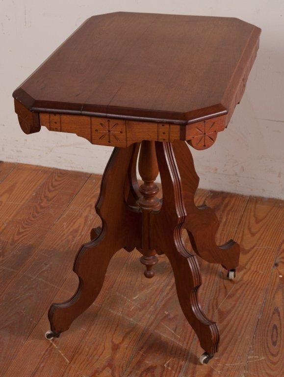 Victorian Eastlake Style Table - 6
