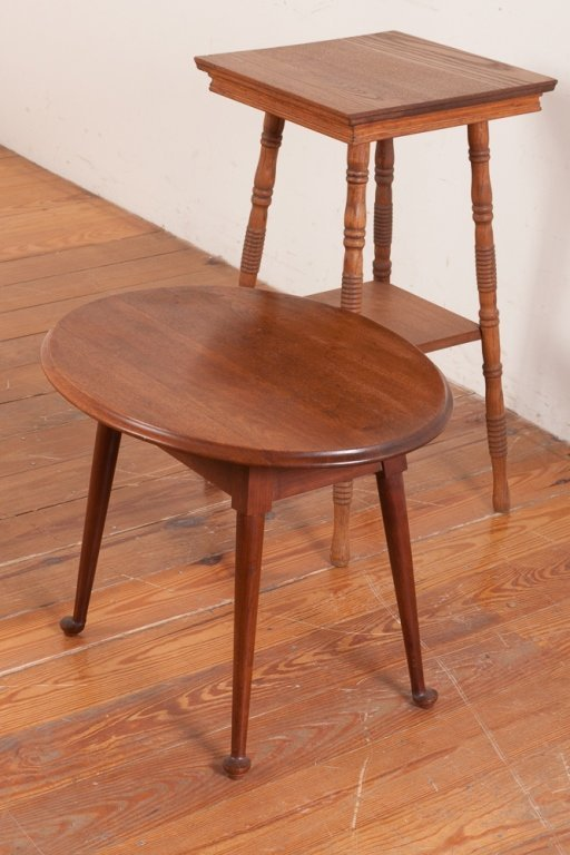 Wood Occasional Tables, Two (2)