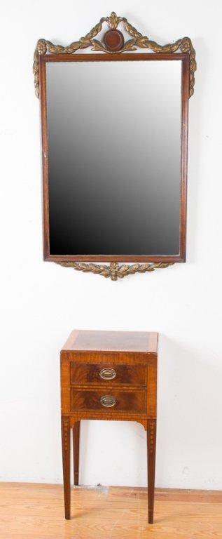 John Wanamaker Side Table w/ Mirror