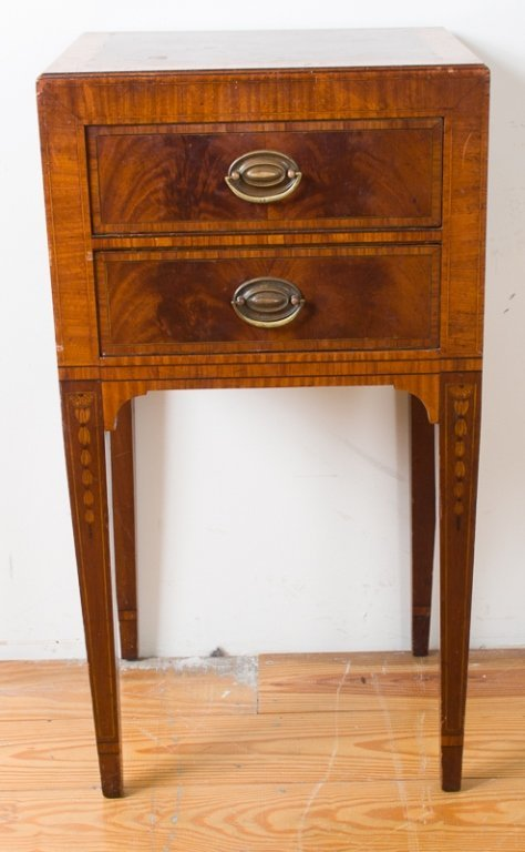 John Wanamaker Side Table w/ Mirror - 4