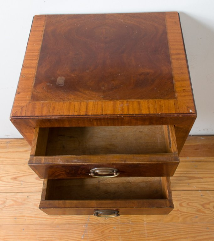John Wanamaker Side Table w/ Mirror - 5