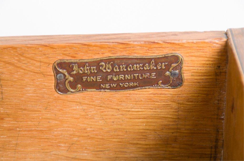John Wanamaker Side Table w/ Mirror - 6