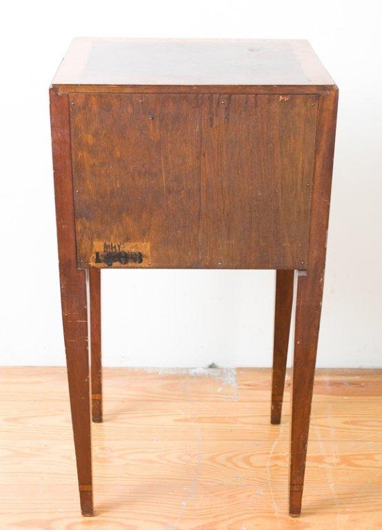 John Wanamaker Side Table w/ Mirror - 9