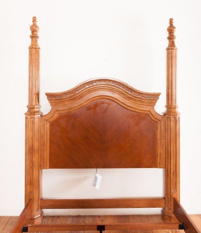 Bernhardt Queen Size Poster Bed - 9