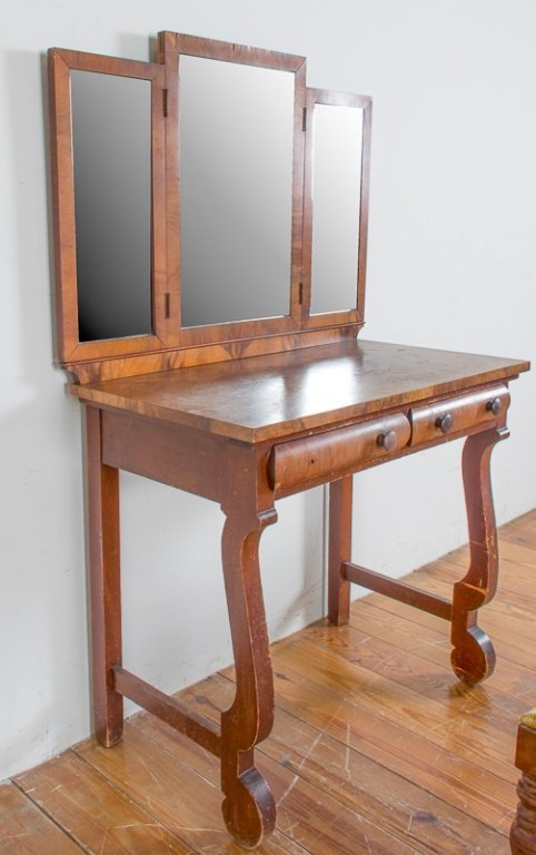 Empire Style Dressing Table & Bench - 3