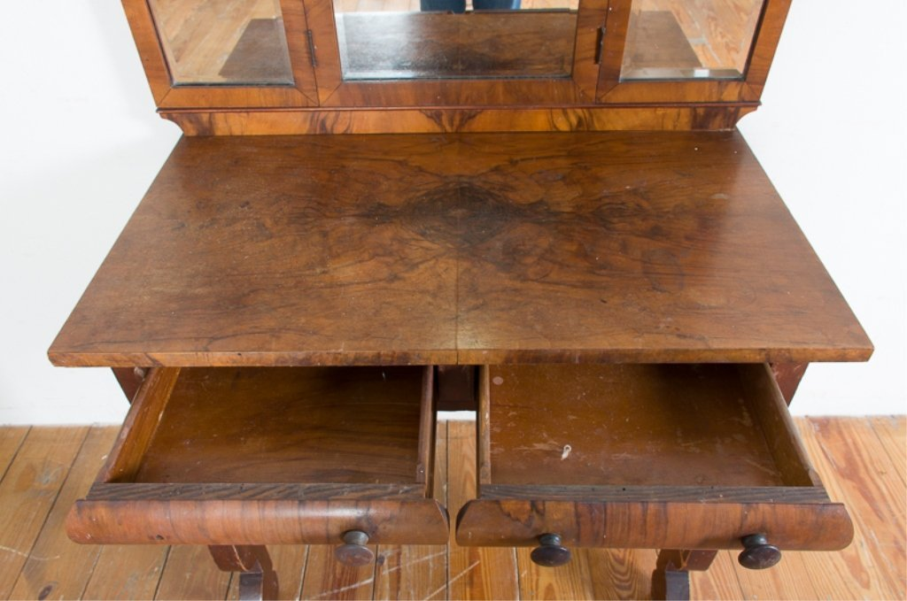 Empire Style Dressing Table & Bench - 4