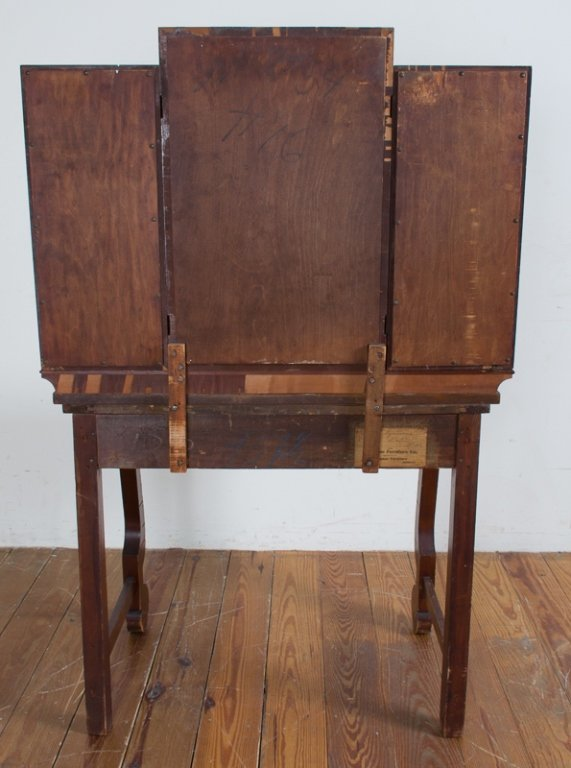 Empire Style Dressing Table & Bench - 7