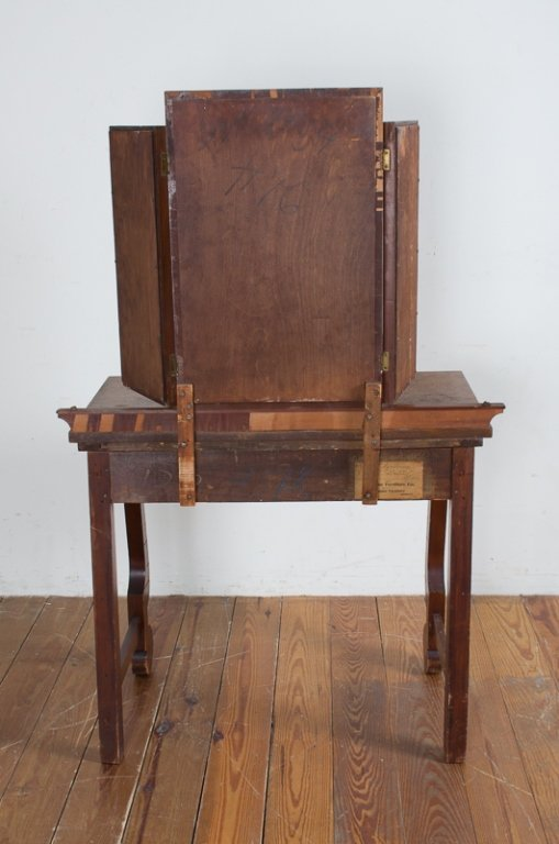 Empire Style Dressing Table & Bench - 8