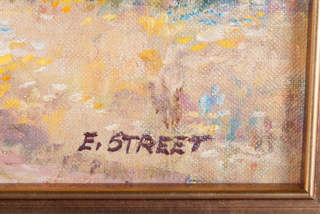 Elizabeth Street Oil on Canvas-Board - 3