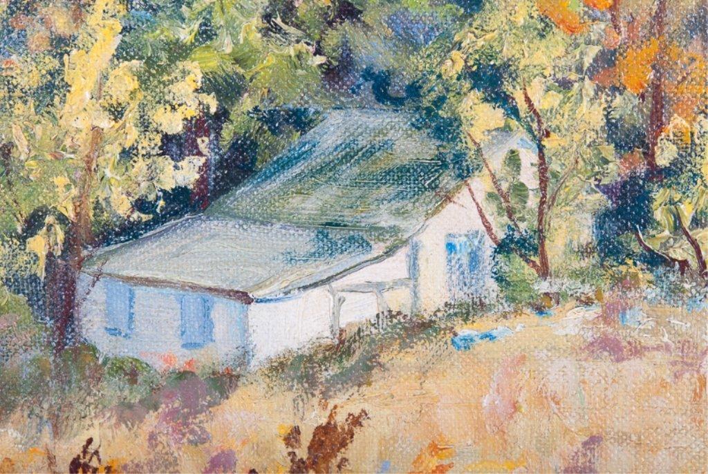 Elizabeth Street Oil on Canvas-Board - 4