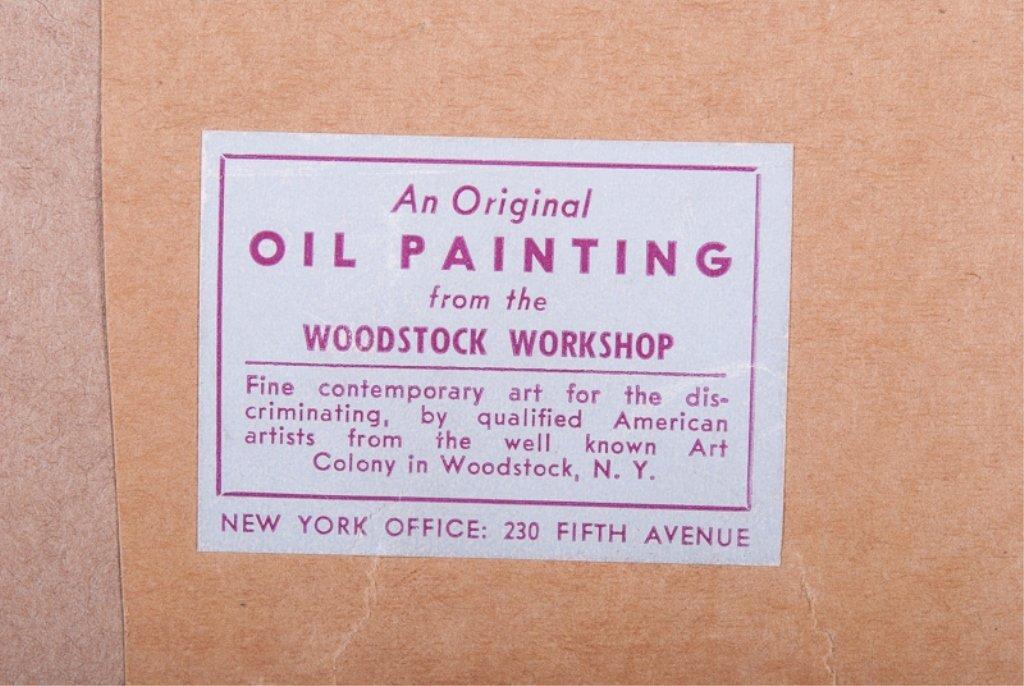 Elizabeth Street Oil on Canvas-Board - 5