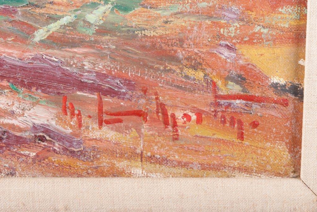 Palette Knife Oil on Canvas Seascape - 3
