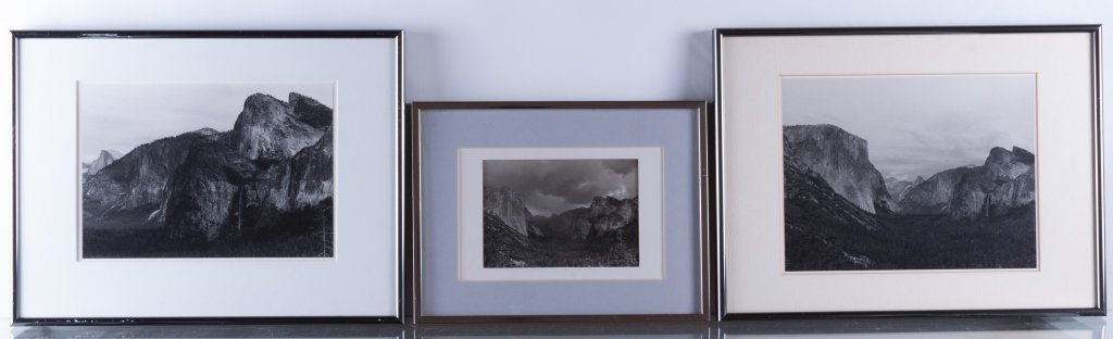 H. Eugene Smith Jr. Yosemite Photos, Three (3)