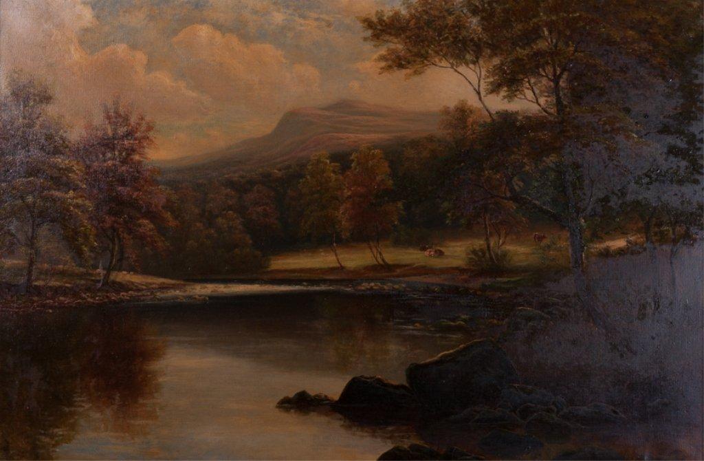 William Mellor Oil on Canvas Landscape