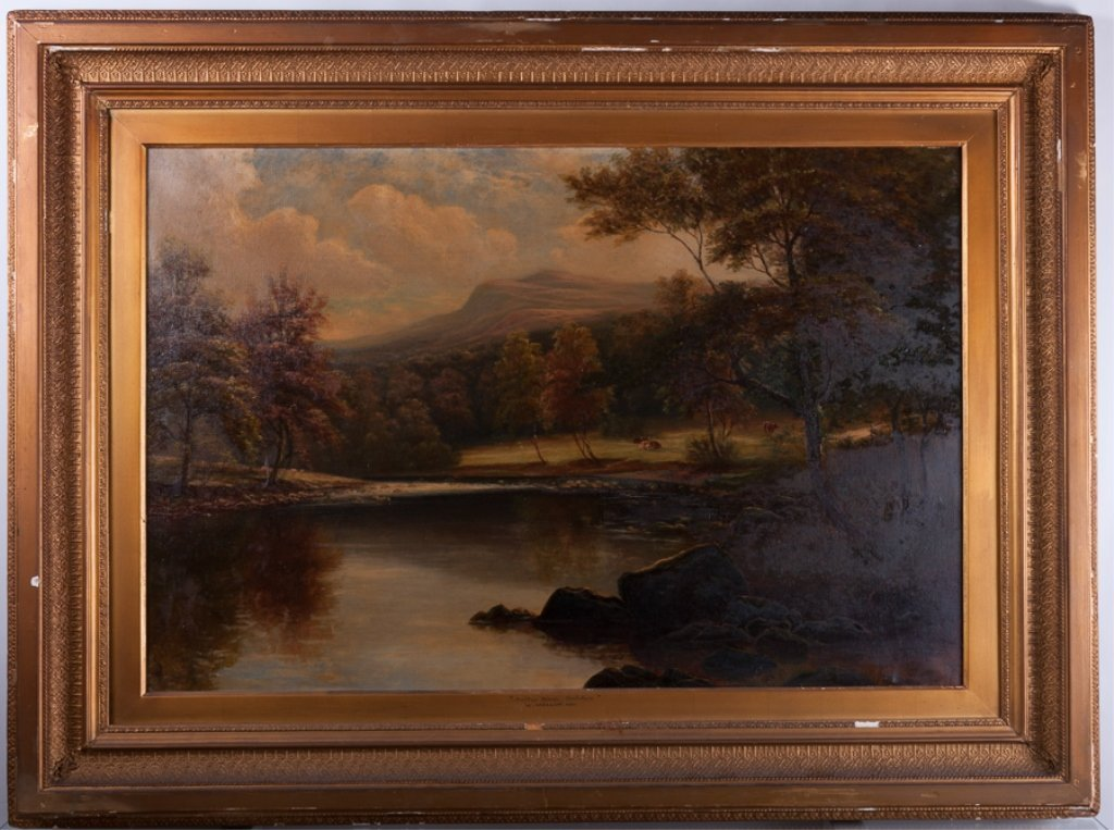 William Mellor Oil on Canvas Landscape - 2