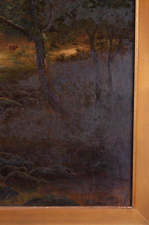 William Mellor Oil on Canvas Landscape - 5
