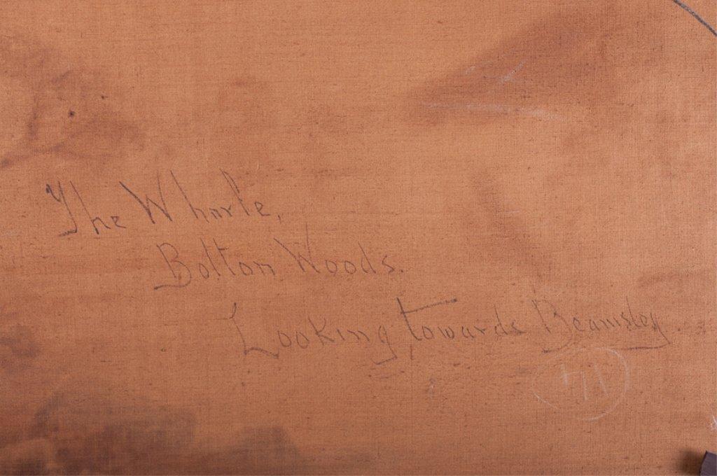 William Mellor Oil on Canvas Landscape - 7