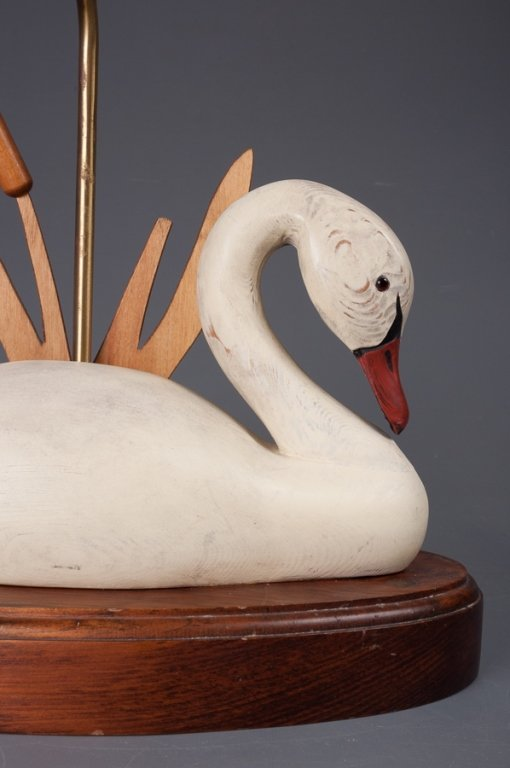 The Decoy Shop Swan Table Lamp - 2
