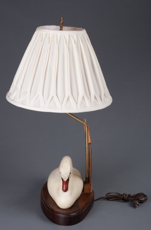 The Decoy Shop Swan Table Lamp - 3