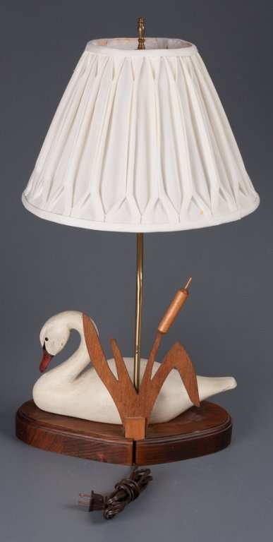 The Decoy Shop Swan Table Lamp - 4