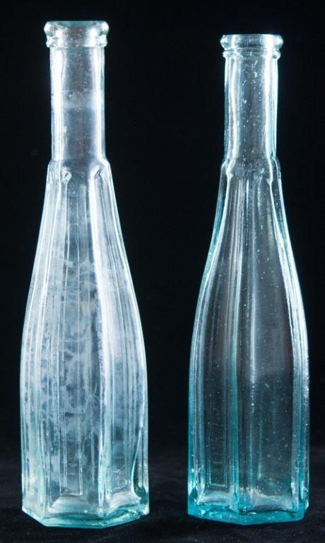 Vintage Gotchic Peppersauce Bottle Pair