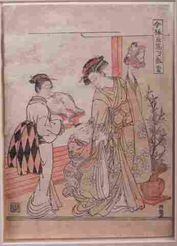 Isoda Koryusai Japanese Woodblock Print