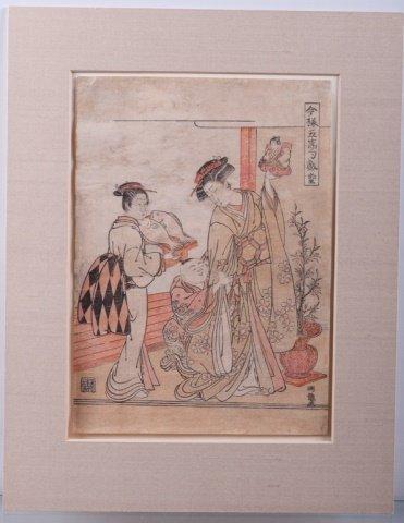 Isoda Koryusai Japanese Woodblock Print - 2