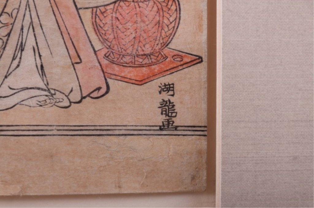 Isoda Koryusai Japanese Woodblock Print - 5