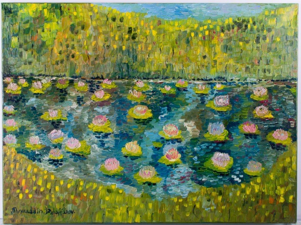 Kheyradolin Dzhaffarov Oil on Canvas - 2